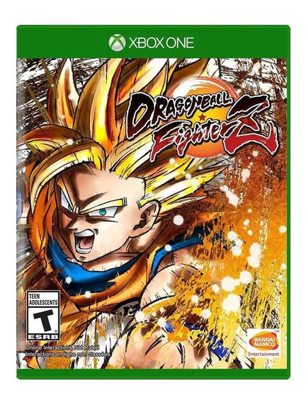 Dragon Ball Fighterz Xbox One Mídia Física Novo Lacrado