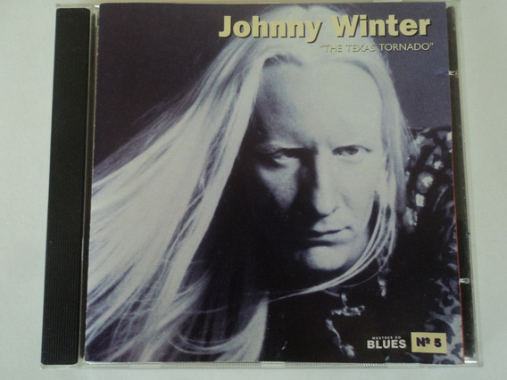 Cd-johnny Winter:the Texas Tornado:mestres Do Blues Vol.5