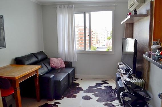 Apartamento Em Cristal Com 1 Dormitório - Vz5208