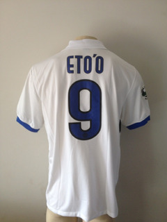 Camisa Inter Milão Nike #9 Etoo - Nova Etiqueta Raridade