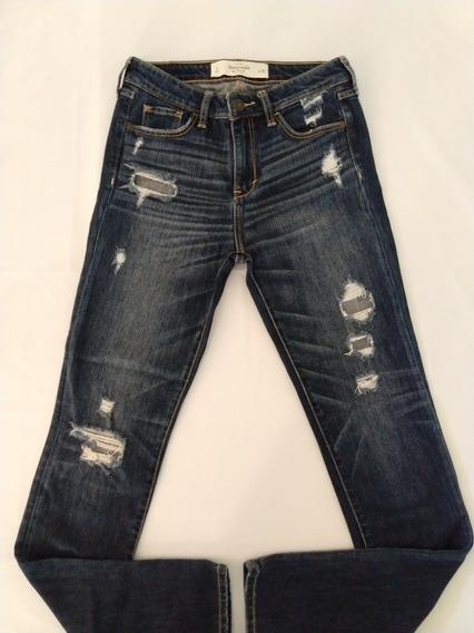 Abercrombie Calça Jeans Feminina 36 Nova Importada Original