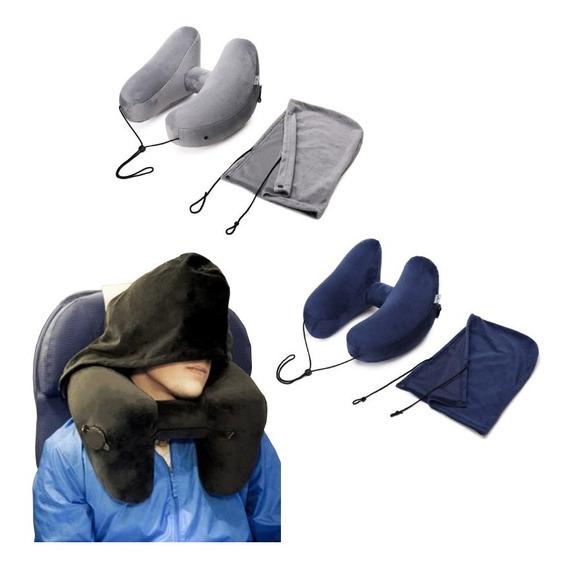 Suporte Apoio Cabeça Adulto Dormir Viagem Avião Carro Ônibus