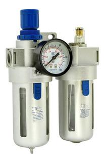 Conjunto Lubrifil 1/2 Pro-012 Filtra Regula O Ar Comprimido
