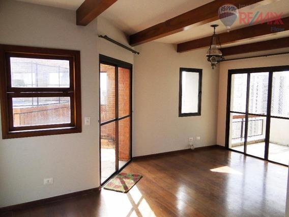 Cobertura Com 3 Dormitórios E 3 Vagas De Garagem - Santo Amaro. - Co0267