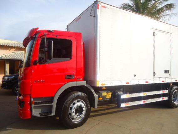 M.benz Atego 2426-2013-bau-truck-talismã Caminhões