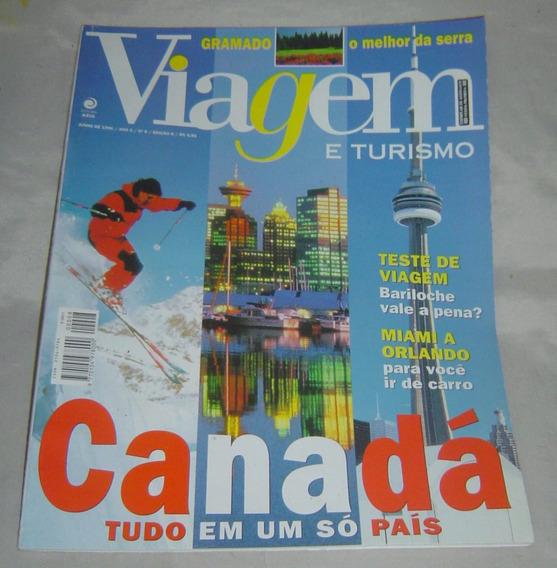 Revista Viagem E Turismo - Nº 6 -edição 8 - Junho 1996.