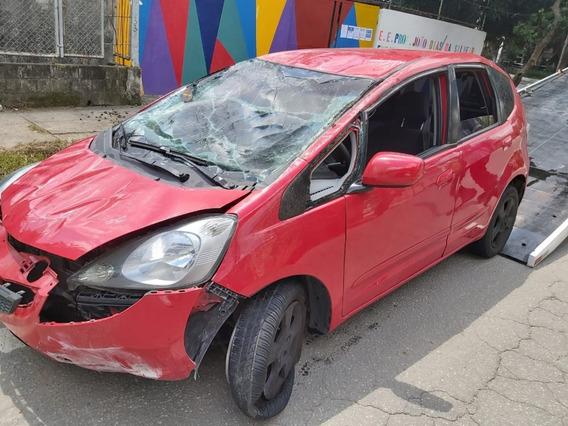 Sucata Honda Fit Lxl 2009 Mec
