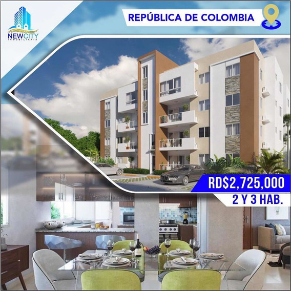 Av.republica De Colombia Proyecto De Apartamentos 2 Y 3 Hab.