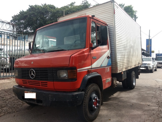 Mb 709 93/93 Baú 4,5m - R$ 45.000