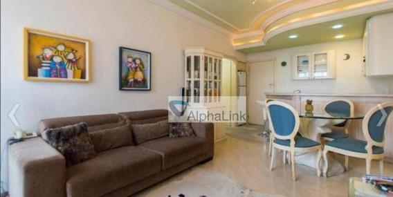 Flat Com 1 Dormitório À Venda, 59 M² Por R$ 360.000 - Alphaville Industrial - Barueri/sp - Fl0025