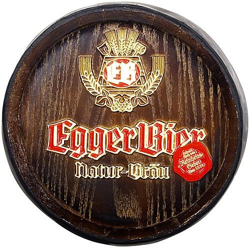 Barril Decorativo De Parede - Egger Bier Cerveja