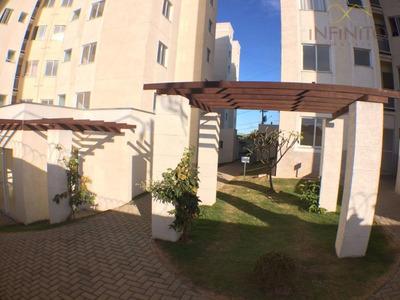 Apartamento Com 2 Dormitórios Para Alugar, Por R$ 1.100/mês - Condomínio Reserva João Aranha - Paulínia/sp - Ap0444