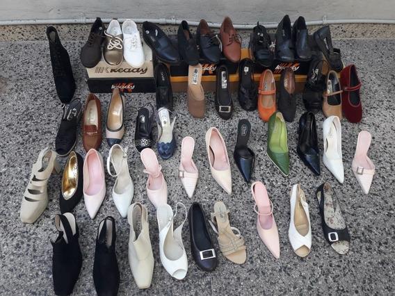 Lote De 48 Pares De Zapatos Para Mujer. Nuevos Impecables