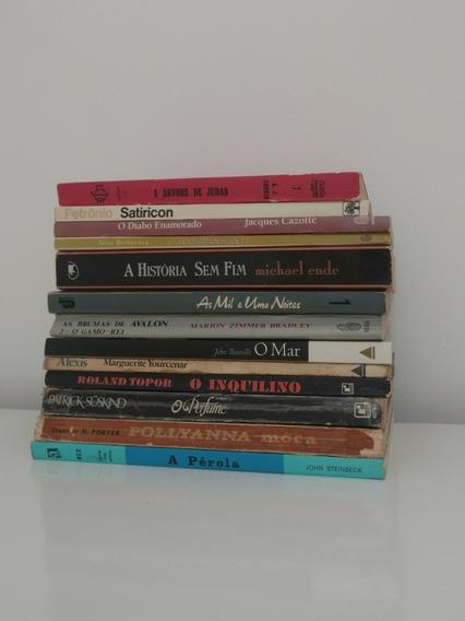 Lote 13 Livros Clássicos Da Literatura Estrangeira Ed. Raras