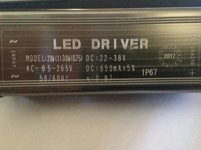 30 Driver Reator Led Reposiçao Para Refletor 50w