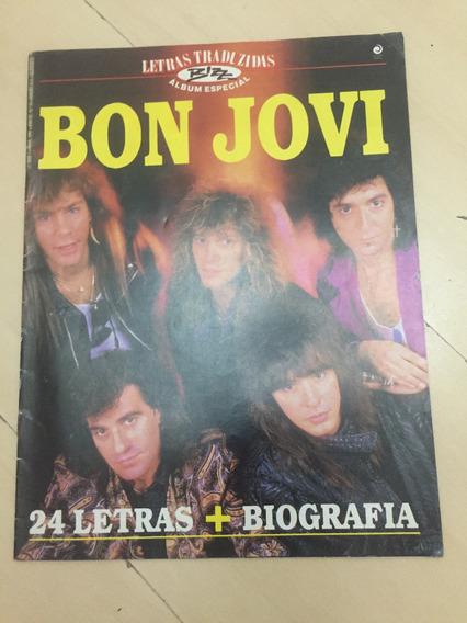 Revista Bizz Letras Traduzidas 70 Bon Jovi Biografia H478