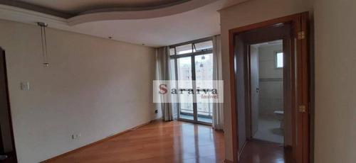 Apartamento Com 2 Dormitórios Para Alugar, 65 M² Por R$ 1.263,56/mês - Vila Valparaíso - Santo André/sp - Ap3965