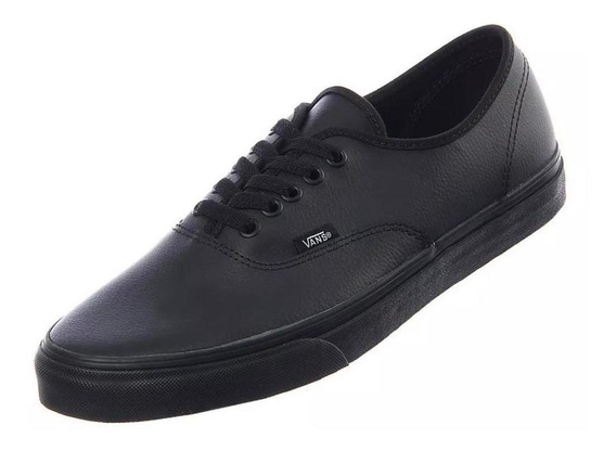 Tenis Vans Negros Ua Authentic Fw18 Black Vn0a2z5il3b