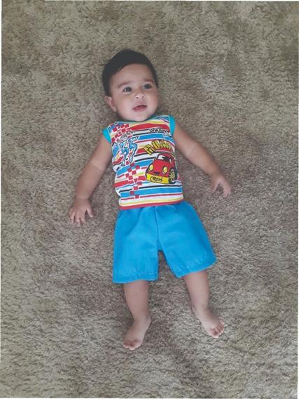 Coisas De Bebês Atacado Barato Menino Kit 8 Conjuntos Menino