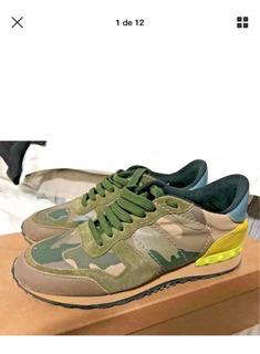 Valentino Sneakers Rockrunner Tenis Auténticos