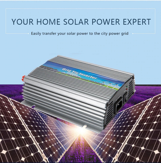 Onda Pura Inversor Solar 600w 12v 24v 220v Grid Tie
