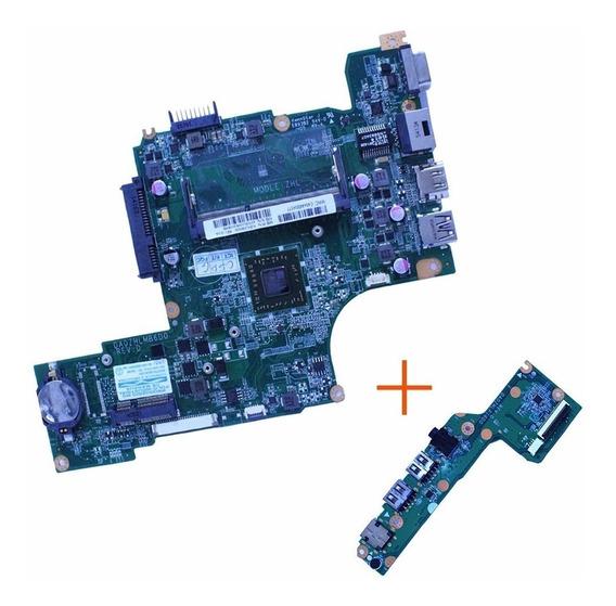 Placa Mãe Amd Netbook Acer V5-123 Da0zhlmb6d0 + Placa Aux