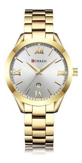 Relógio Feminino Curren - Dourado