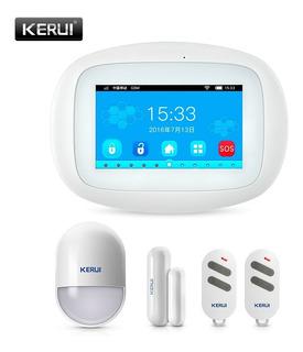 Alarma Casa Wifi Kerui K5 4.3pulgadas Pantalla Tft
