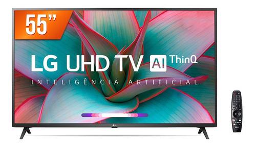 Smart Tv Led 55  Ultra Hd 4k LG 55un7310 Thinq Al 3 Hdmi