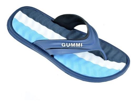 Ojotas Para Hombre Marca Gummi Color Azul