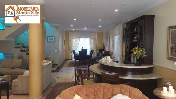 Lindo Sobrado Na Vila Rosália Com 5 Dormitórios À Venda, 420 M² - Vila Rosália - Guarulhos/sp - So0351