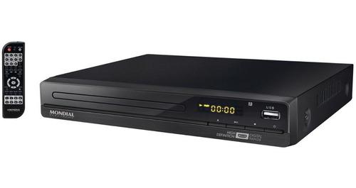 Dvd Player D-22 C/ Função Karaokê, Hdmi E Usb Mondial Bivolt