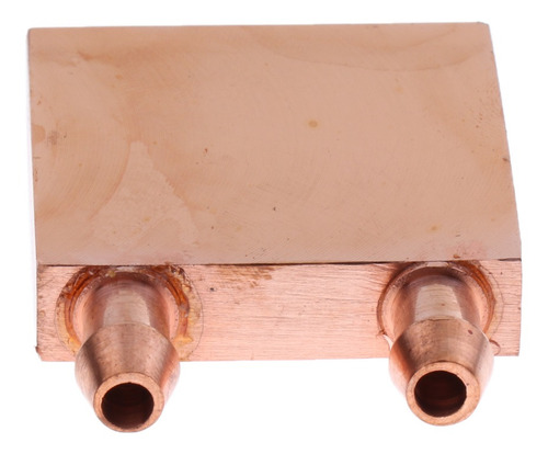 Imagen 1 de 9 de 1 Pieza Bloque De Enfriamiento De Cobre De Agua Para Cpu