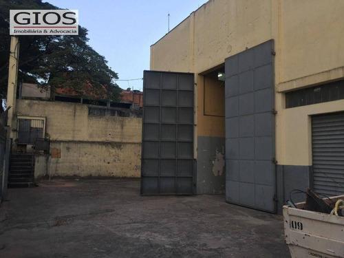 Imagem 1 de 30 de Galpão, 900 M² - Venda Por R$ 2.800.000,00 Ou Aluguel Por R$ 14.000,00/mês - Limão - São Paulo/sp - Ga0259