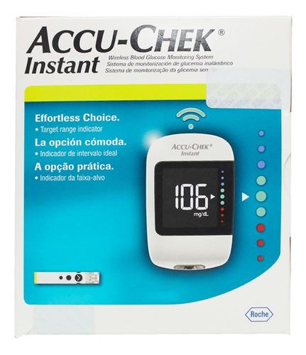 Kit Glucometro Accu Check Instant X 4 Piezas