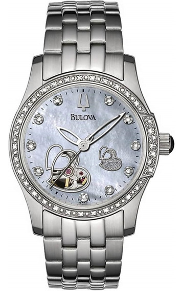 Relógio Bulova Diamond Automatic Wb27190q