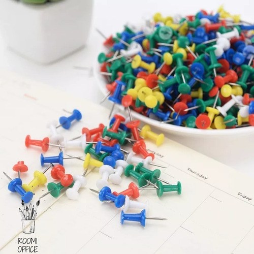 Push Pins Color 100