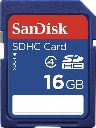 Sandisk Cartão De Memória Sdhc 16gb Classe 4