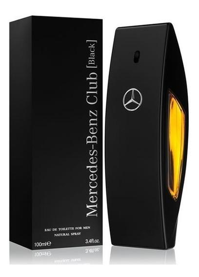 Perfume Mercedes Benz Club Black 100ml Original Lacrado