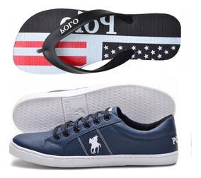 6291669f69 Tenis Polo Ralph Lauren Feminino Azul Marinho - Calçados, Roupas e ...