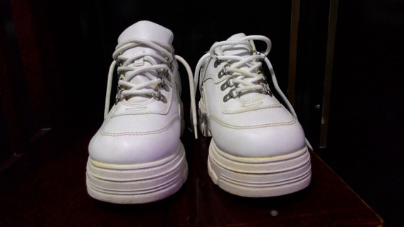 Sapato Eastside Lower Branco - Solado 5 Cm - Frete Grátis
