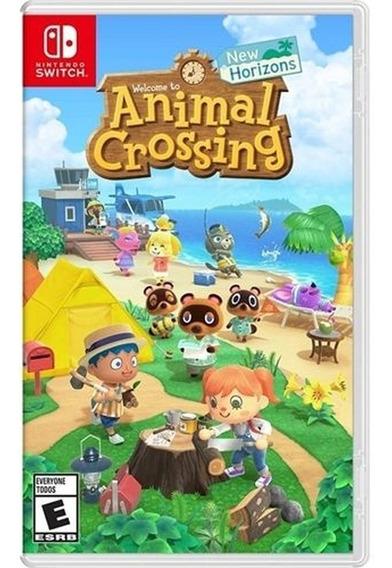 Animal Crossing New Horizons Switch Mídia Fisica