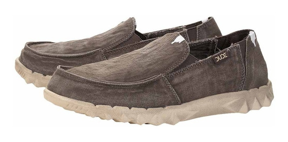 Zonazero Zapatos Mocasines Hey Dude Farty Washed Hombre