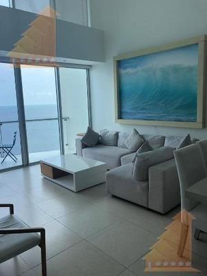 Hermoso Ph De 2 Pisos En Venta Vista Al Mar 2 Habitaciones Peninsula Zona Hotelera
