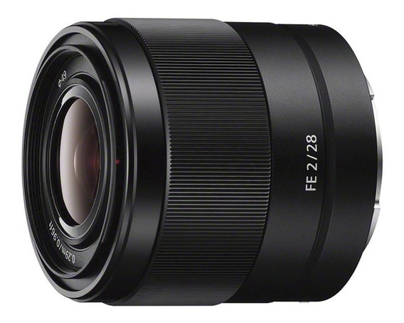 Lente Sony Fe 28mm F/2 E-mount Sel28f20 Nota Fiscal