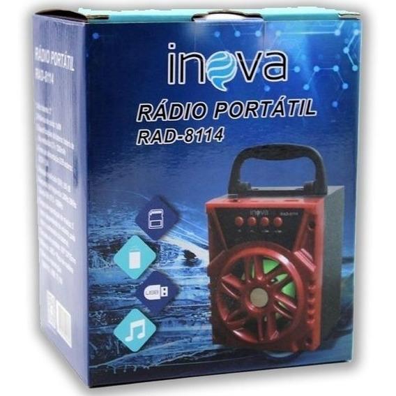 Radio Portátil Inova 8114