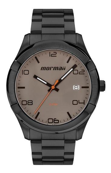 Relógio Mormaii Masculino Mo2415ag/4c Dourado Barato + Nota