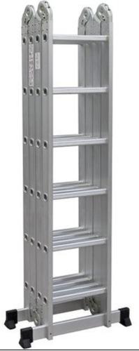 Imagen 1 de 4 de Escaleras Aluminio Andamio 7.0m  Multifuncion  24 Escalones