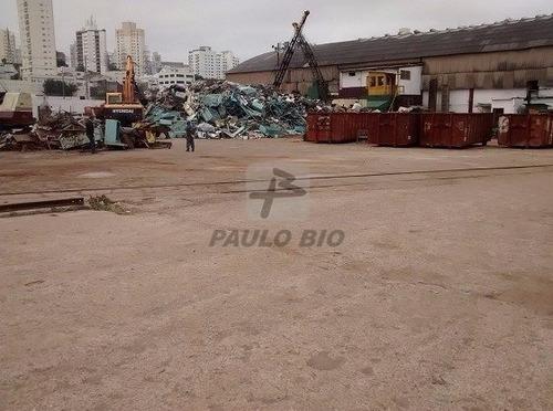 Terreno Industrial - Parque Da Mooca - Ref: 4298 - V-4298