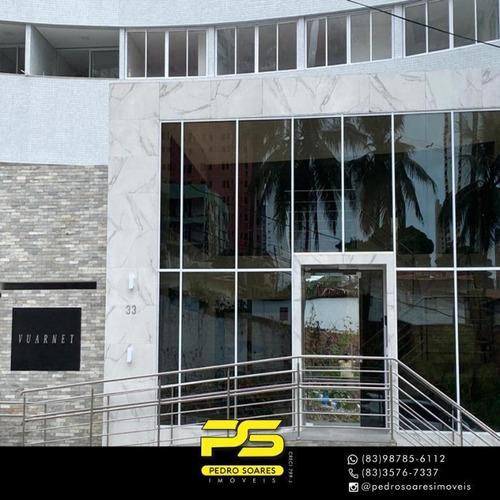 Apartamento Com 2 Dormitórios À Venda, 45 M² Por R$ 260.000 - Miramar - João Pessoa/pb - Ap3628